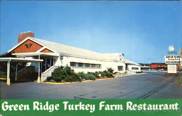 Green Ridge Turkey Farm Restaurant, ca. 1960