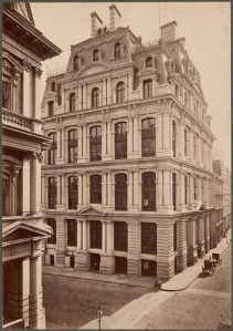Boston's Equitable Life Insurance building at 67 Milk Street (Photo Source:  Boston Public Library Flickr Photostream)