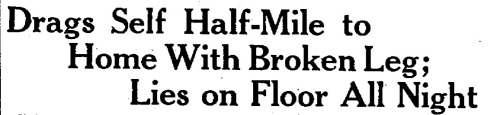Lowell Sun, Front Page, March 16, 1933