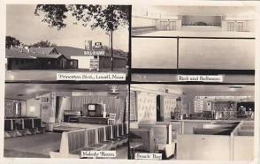 Images of the Exterior and Interior of the Hi Hat, from the Facebook Group 'You Know Your From Lowell When' via 'Hi Hat Skating Club' Facebook Page