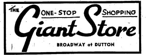1949 GIant Store