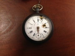 Spanish-American War-era watch, LHS Collection (Photo by Author)