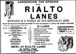 Rialto Lanes 1961
